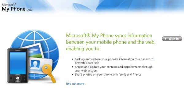 MyPhone aspect getting ready.