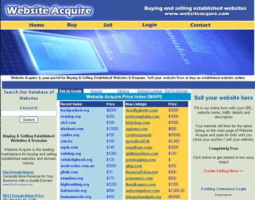 websiteacquires