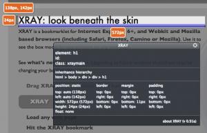 WestCiv's XRAY inspection tool