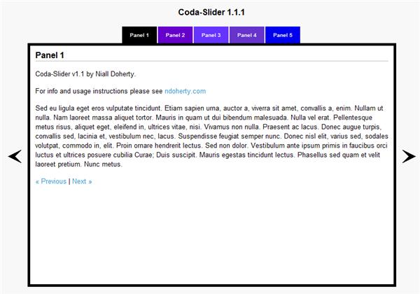CodaSlider