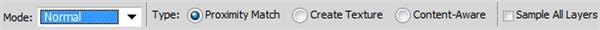 optionsbar