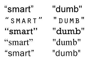 SmartAndDumbQuotes
