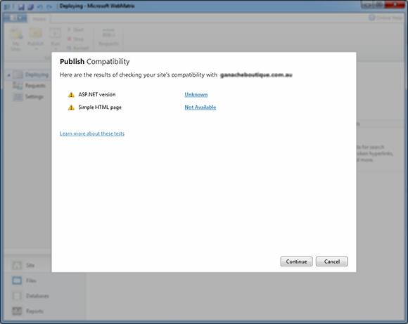Publish Compatibility