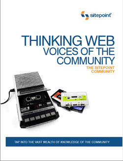 Cover - Thinking Web