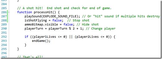 code sample 10