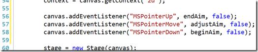 code sample 2