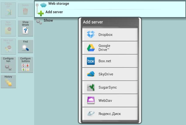 X-plore File Manager for Android