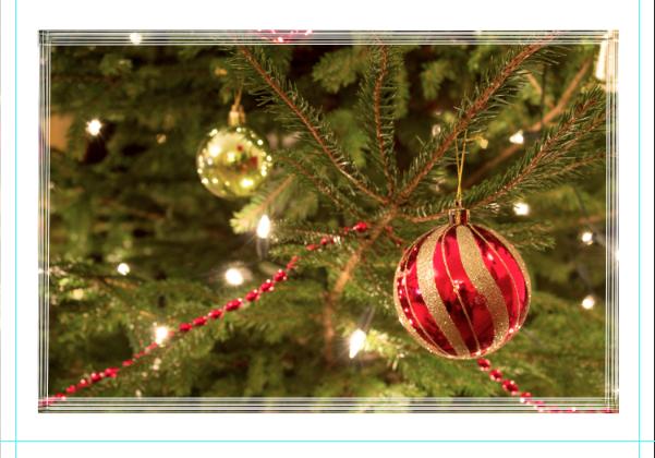 Border For Christmas card