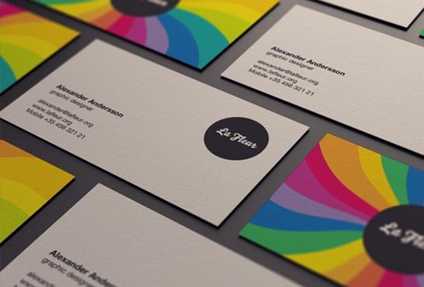 Vibrant-Make Your Business Cards Stand Out