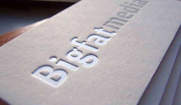 Emboss - Make Your Business Cards Stand Out