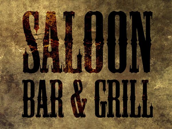 Saloon Fonts