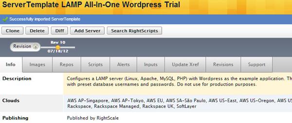 Wordpress AMI