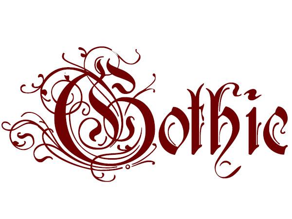 Gothic - Typography