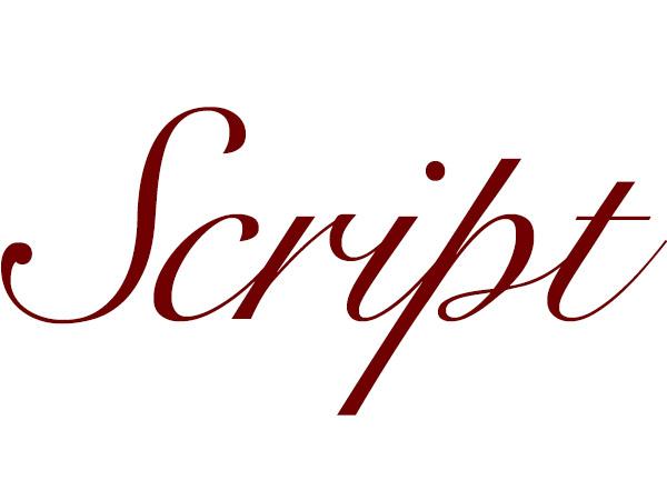 Script - Typography
