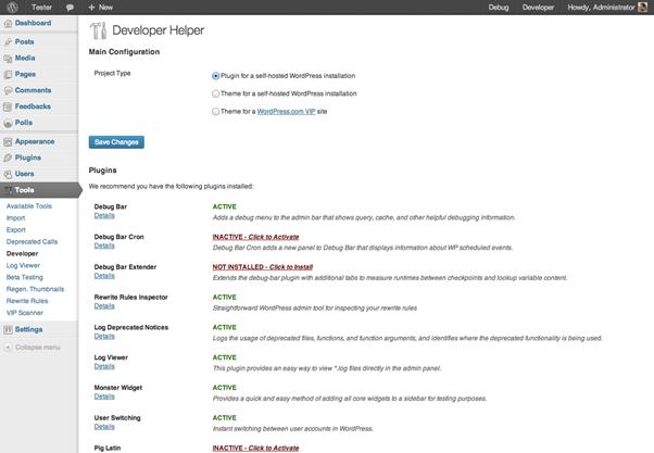 developer plugin