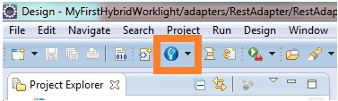 Worklight adapter wizard