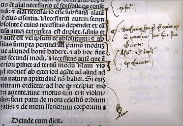 Marginalia: adding comments to the text