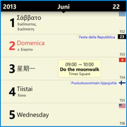 Chronos Calendar is the best calendar app available on the Windows Phone store