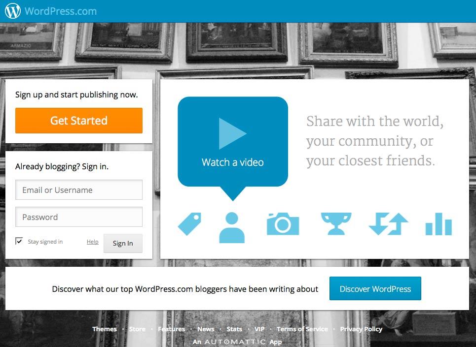 Website: WordPress.com