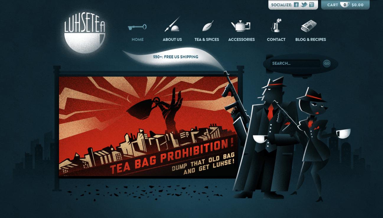 Website: Luhse Tea