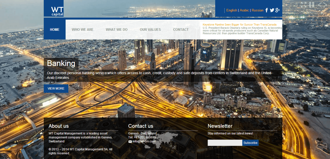 Website: WT Capital