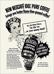 Nescafe Instant Coffee magazine ad
