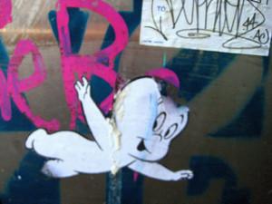 Ghost grafitti