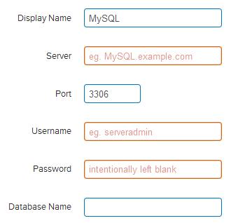 MySQL Database Connector