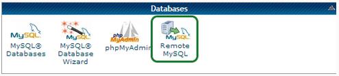 Remote MySQL in cPanel