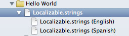 Localized strings