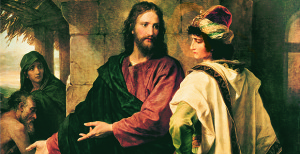 """Heinrich Hofmann """"Christ and the Rich Young Ruler"""""""