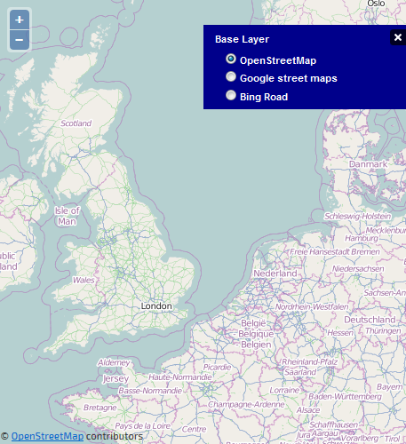 OpenLayers combine OSM, Bing and Google map layers