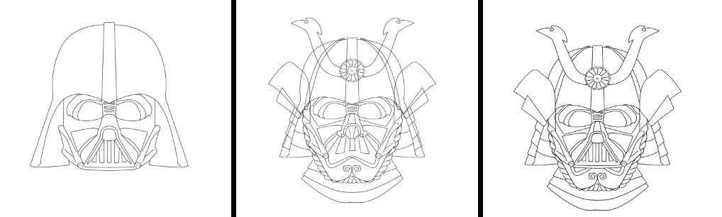 Darth Vader goes kabuto