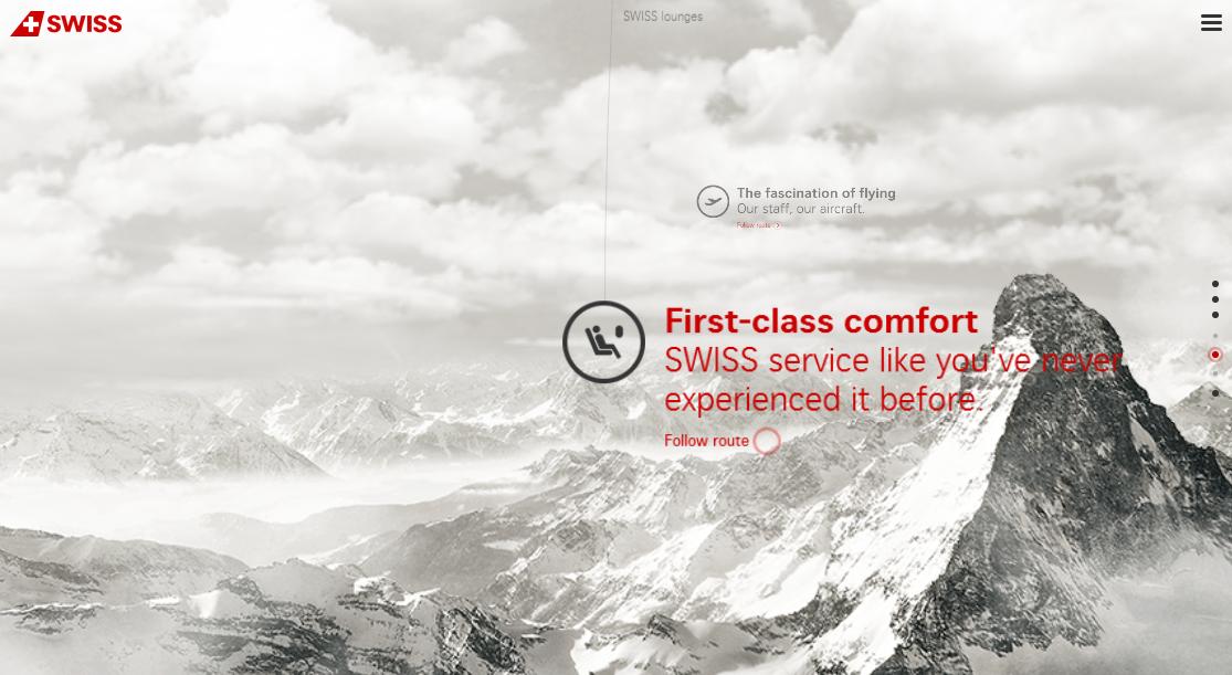 World of Swiss website screenshot