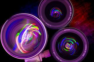 Pretty camera lenses