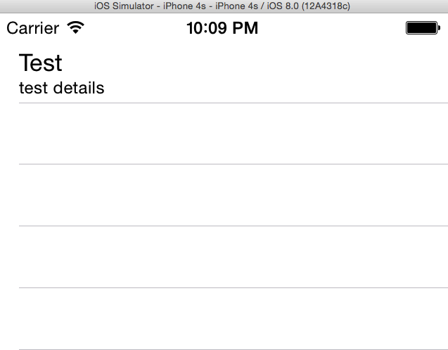 Example of App created so far