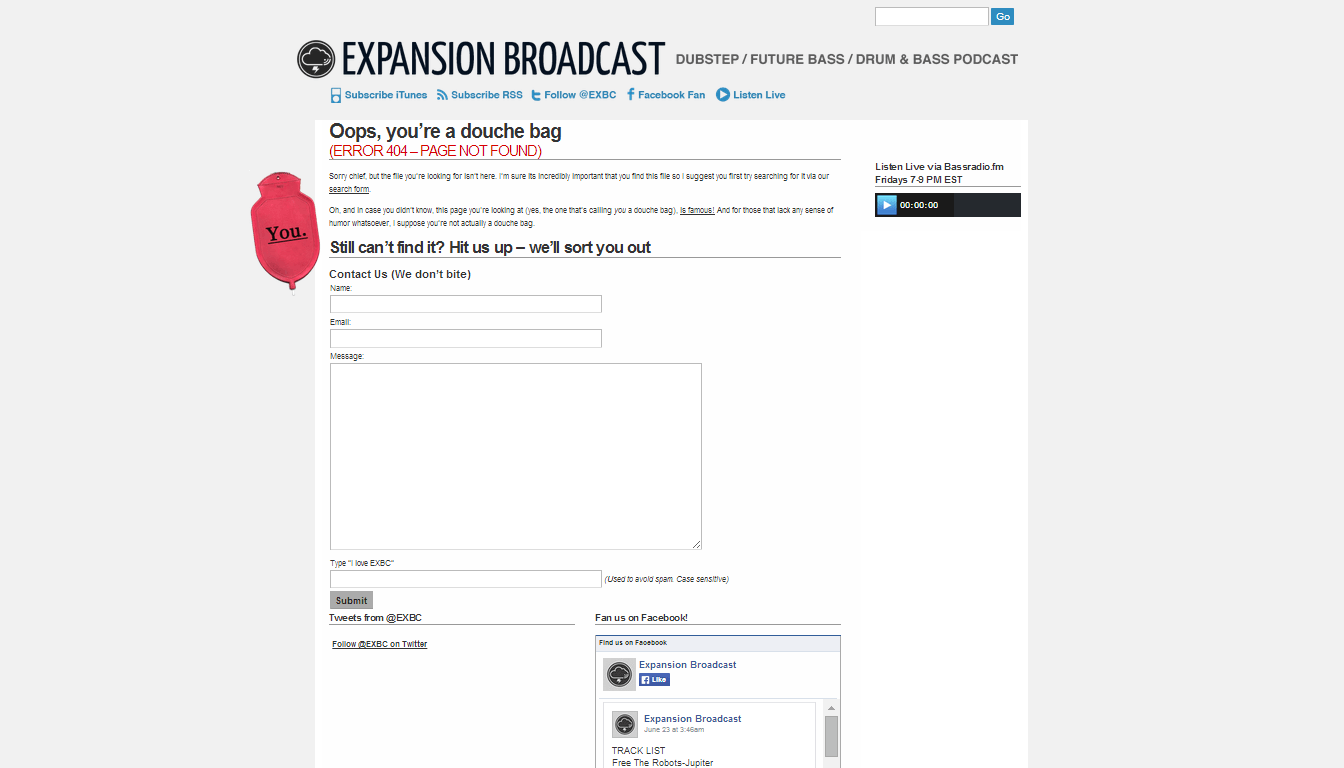 Expansion Broadcast