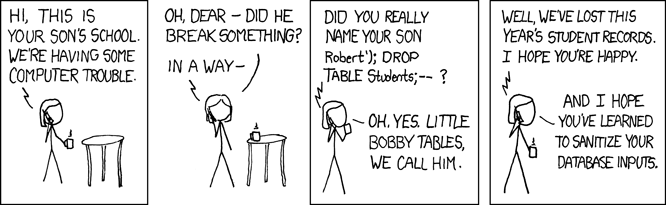 SQL Exploits of a Mom
