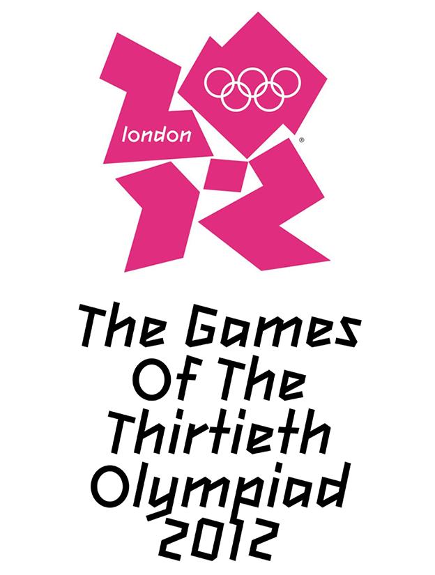 London Olympics font