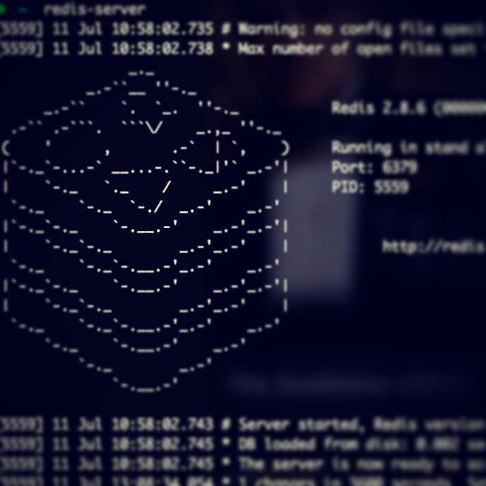 Redis server screenshot