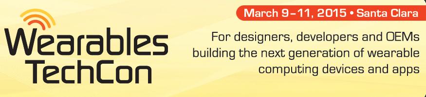 Wearables TechCon Logo