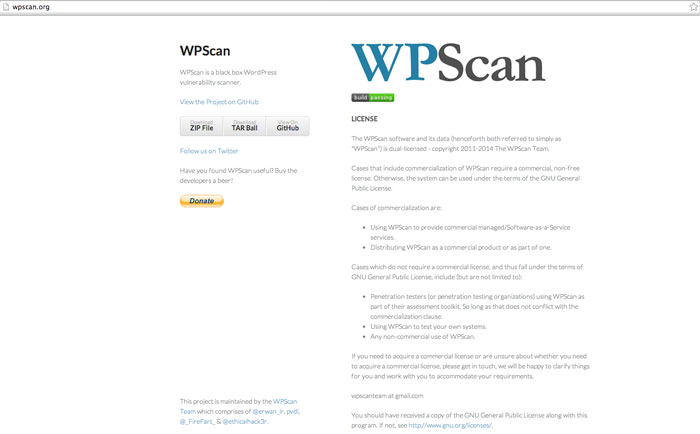 WP Scan