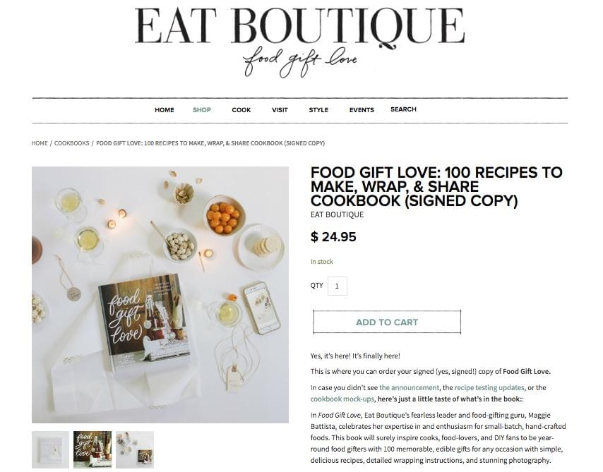 EatBoutique Shop
