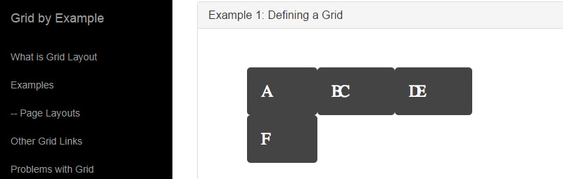 Grid by Example