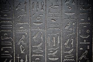 Hieroglyphs -- 'old school' iconography