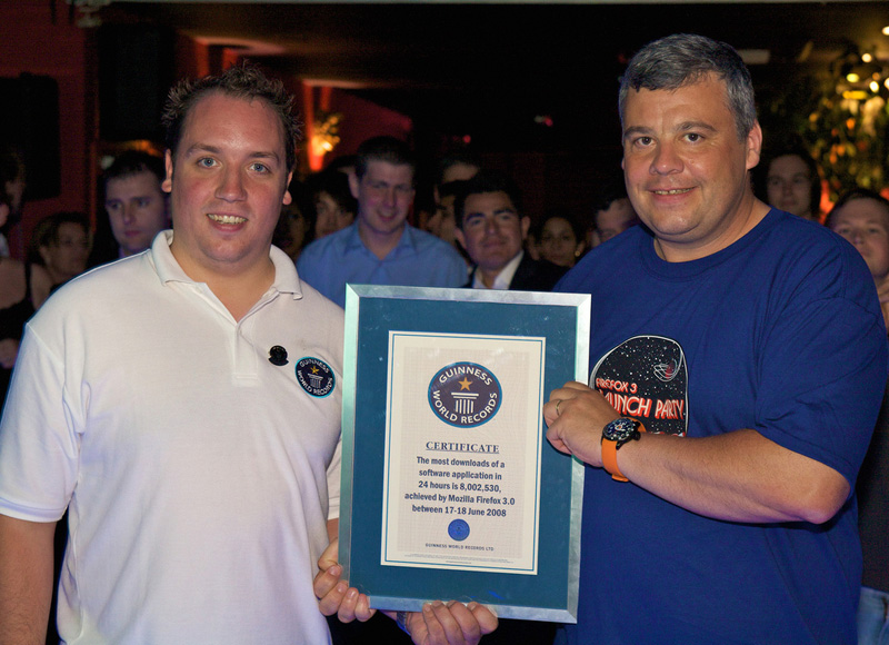 Firefox's Guinness World Record
