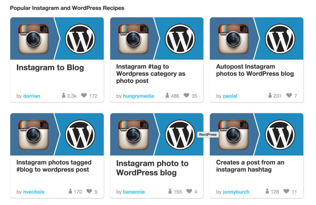 WordPress Instagram