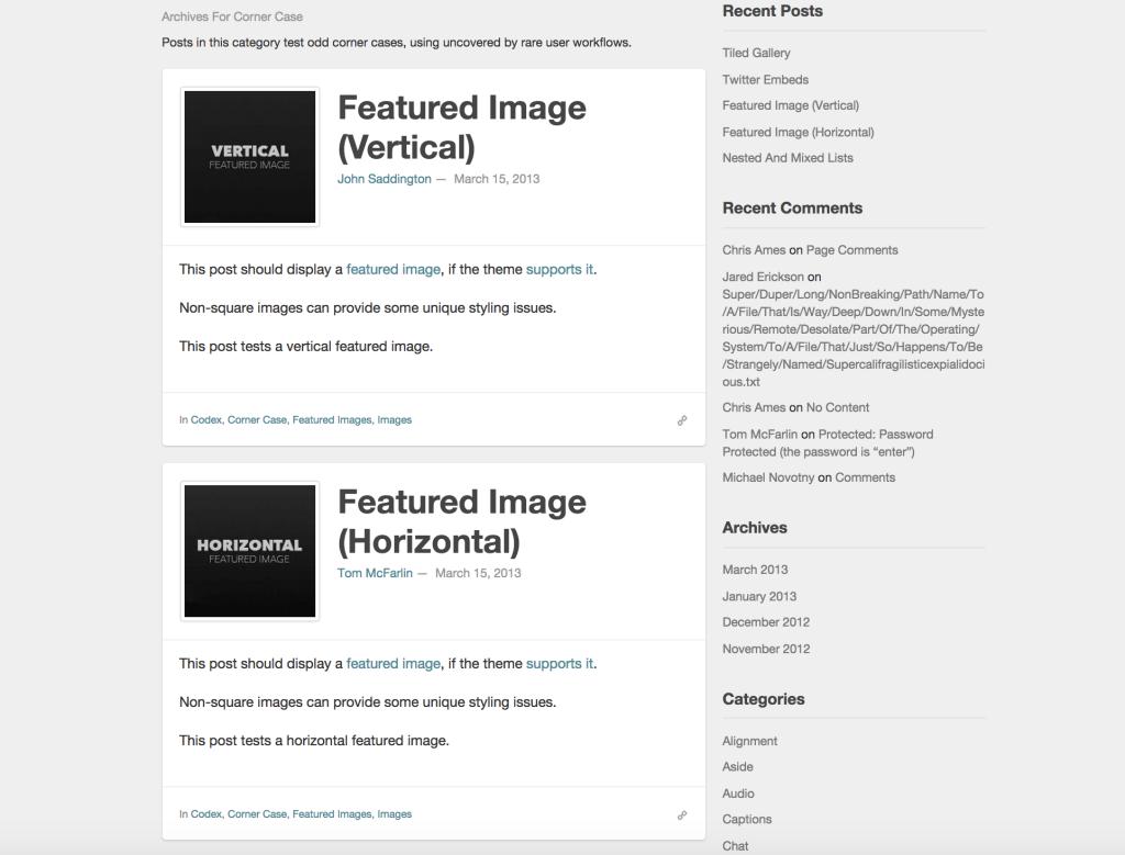 WP Test - Images