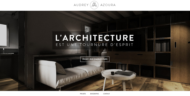 Audrey Azoura Website