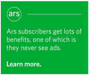 Ars Technica used to drive ad blockers to their subscription page
